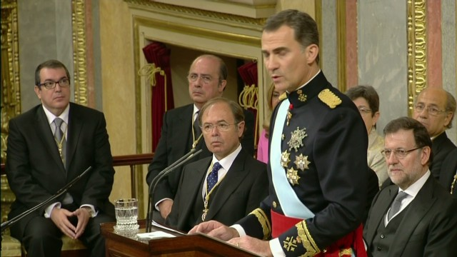 Spain's new King: 'I have great hope'