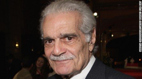 Iconic Egyptian actor Omar Sharif dies at age 83