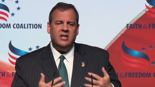 Chris Christie's 'pro-life' message