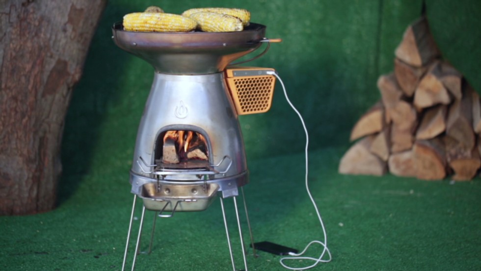 Grill charges your phone during cookouts - CNN Video