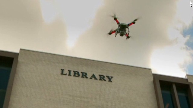 Why a college is using drones on campus