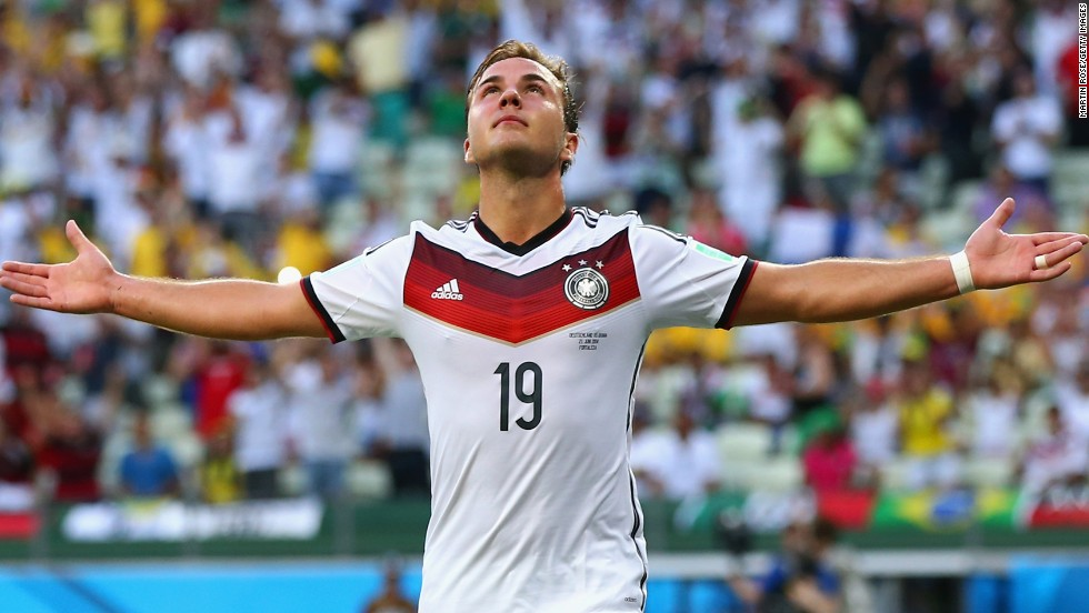 After a tight first half, Mario Gotze put Germany ahead in the 51st minute after a pin point cross from Thomas Muller.