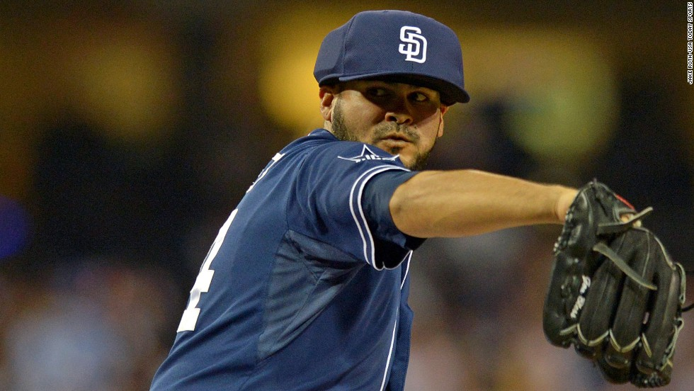 Donning a new cap, Alex Torres makes a pitch for baseball safety
