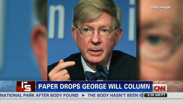 Newspaper drops George Will column