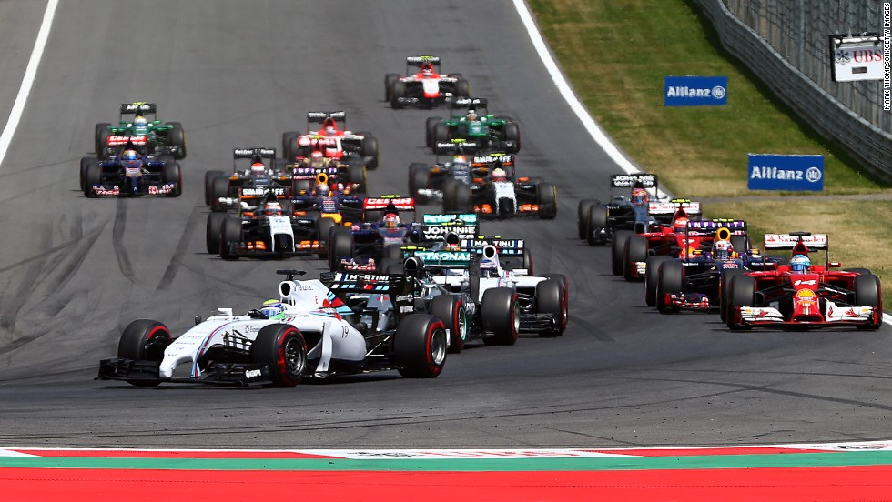 Felipe Massa of Williams had started on pole and led into the first corner, but ended the race fourth behind young teammate Valtteri Bottas.