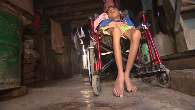 India's disabled trapped by poverty