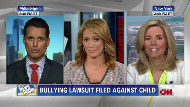 Can a 4th grader sue an alleged bully?