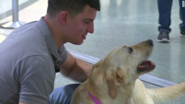 pkg KHOU marine reunited with service dog_00011712.jpg