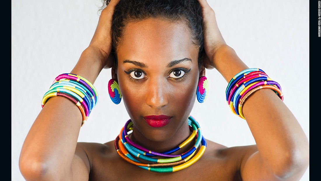 "Inzuki Designs by <a href=""http://edition.cnn.com/2014/06/27/business/sweet-but-fierce-inzuki-designs/"">Teta Isibo</a> is a Kigali-based startup that specializes in jewelry, accessories and interior decor."