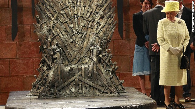 Queen comes to claim the 'Iron Throne'