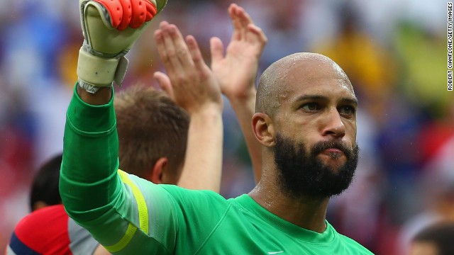 Tim Howard inspires off the field, too