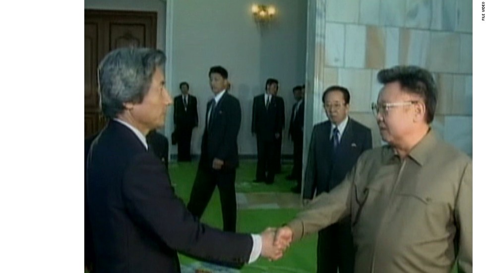 At a summit in Pyongyang in September 2002, former Japanese Prime Minister Junichiro Koizumi met with now-deceased North Korean leader Kim Jong-Il. North Korea admitted to kidnapping Japanese citizens for the first time.