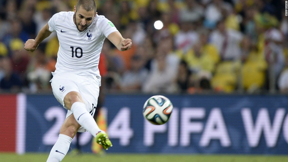 Benzema signed for Real Madrid from French club Lyon in 2009.