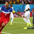 Dempsey Celebrates USA first goal