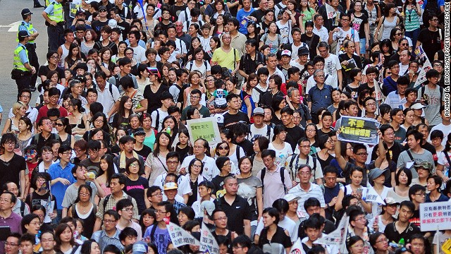 Tracing Hong Kong's antagonism