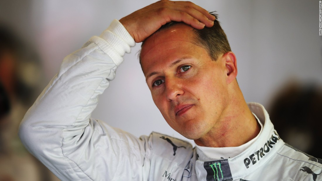 "Michael Schumacher's manager expressed the ""continued support and patience"" being offered to the stricken Formula One star. ""We must hope that with continued support and patience he will one day be back with us,"" Sabine Kehm said. In December 2016 she added Schumacher's health ""is not a public issue."""