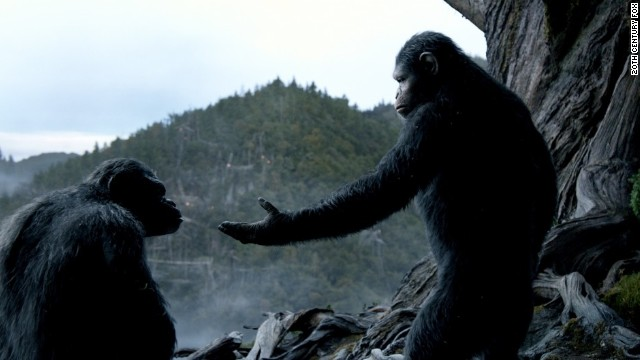 """Dawn of the Planet of the Apes,"" directed by Matt Reeves, opened in theaters July 11."