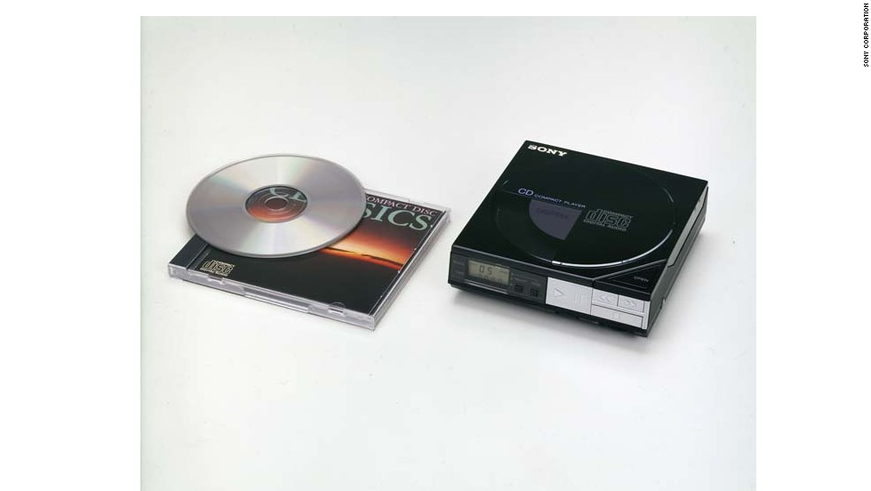 It wasn't all about cassettes. The Discman was released in 1984, just two years after CDs were first mass-produced. With it, Sony helped solidify the compact disc's status as a viable music format. The D-50 (or D-5 in some countries, including the United States) was about the size of four compact disc cases and sold for $350.