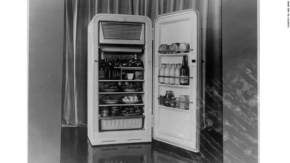 "<strong>ZIL refrigerator, 1950s</strong><br /><br />In a move that was emblematic of the times, one of Soviet Russia's most prestigious industrial enterprises, the ZIL factory -- until then known for making cars, limousines and military vehicles -- started manufacturing refrigerators.<br /><br />The ZIL refrigerator became ubiquitous in Soviet homes, although, said Sudakova, ""at that time you would have to be very privileged to have your own kitchen, mostly they were communal.<br /><br />""The fridge would be part of the living room ... to show that you owned it."""