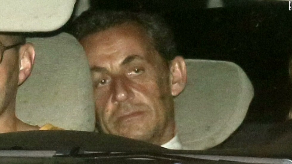 French ex-President Sarkozy 'deeply shocked' by allegations