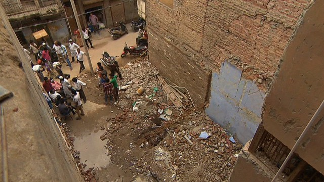 Indian building collapse raises questions