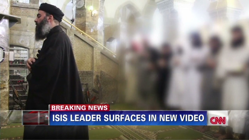 Does video show ISIS leader? Iraq works to find out