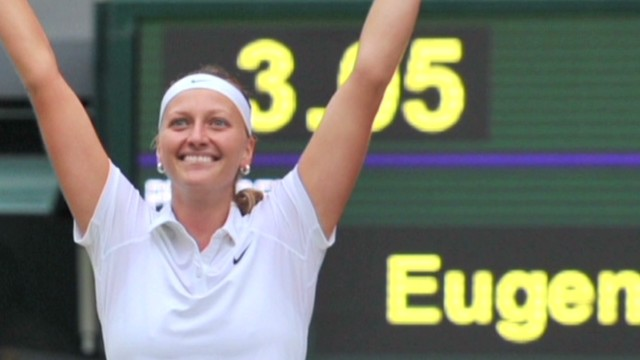 Kvitova wins 2nd Wimbledon title