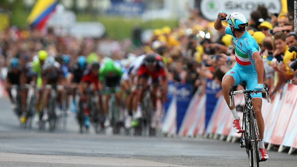 A superb victory on the second stage of the Tour in Yorkshire set the scene for Nibali's domination to date.