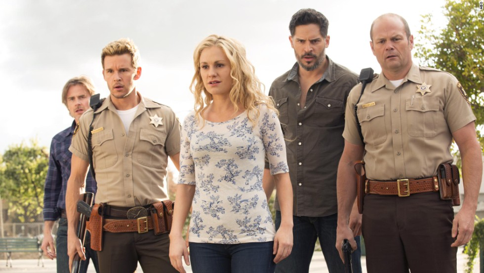 "When ""True Blood"" met its true death with its series finale in August, it had the nerve to drag one of its central characters with it. (This person may or may not be pictured.) Fans were divided on the ending."