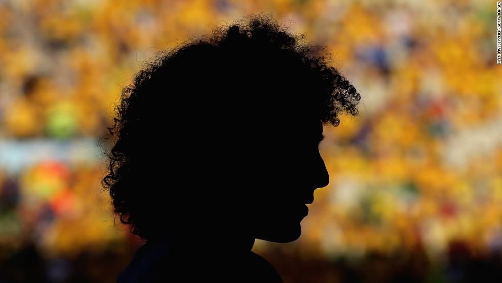 "Brazil's David Luiz warms up Friday, July 4, before the World Cup quarterfinal match against Colombia in Fortaleza, Brazil. He scored a stunning free kick that was the difference in the 2-1 Brazil victory. <a href=""http://www.cnn.com/2014/07/01/worldsport/gallery/what-a-shot-0630/index.html"">See 32 amazing sports photos from last week</a>"