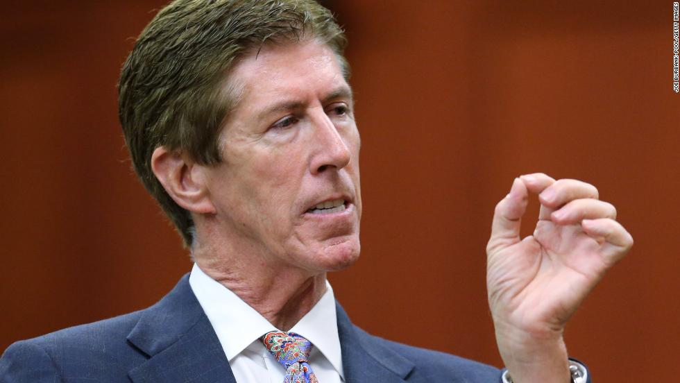 Defense attorney Mark O'Mara no longer represents Zimmerman. O'Mara is now flush with new business and is a CNN legal contributor.