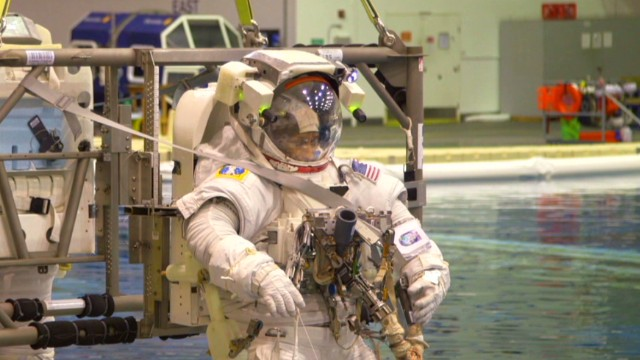 Zero gravity training with NASA