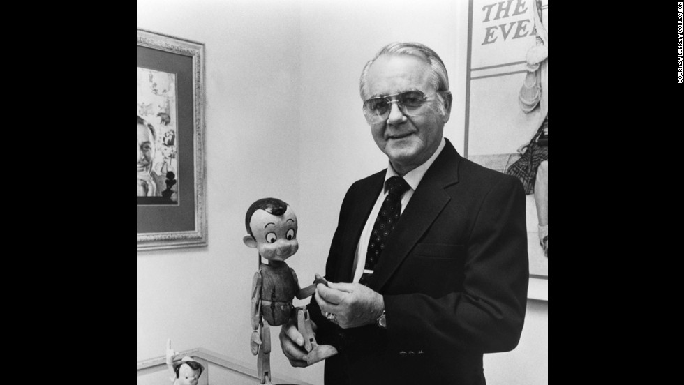 "<a href=""http://www.cnn.com/2014/07/08/showbiz/pinocchio-voice-actor-dead/index.html"">Richard Percy Jones</a>, the actor who gave Pinocchio his voice in the 1940 Disney movie, died at his California home on July 8. He was 87."