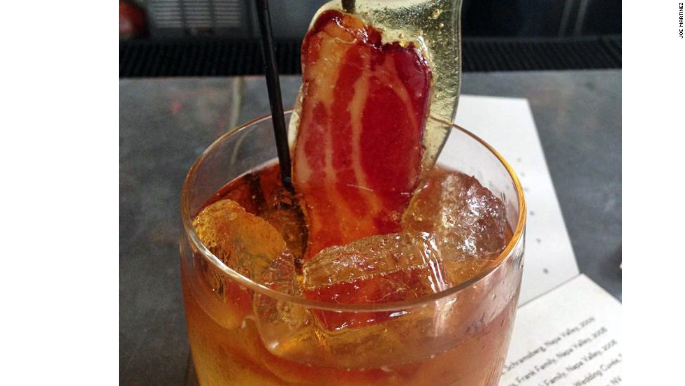 Bacon Cocktail: Grange Restaurant & Bar -- Sacramento, California