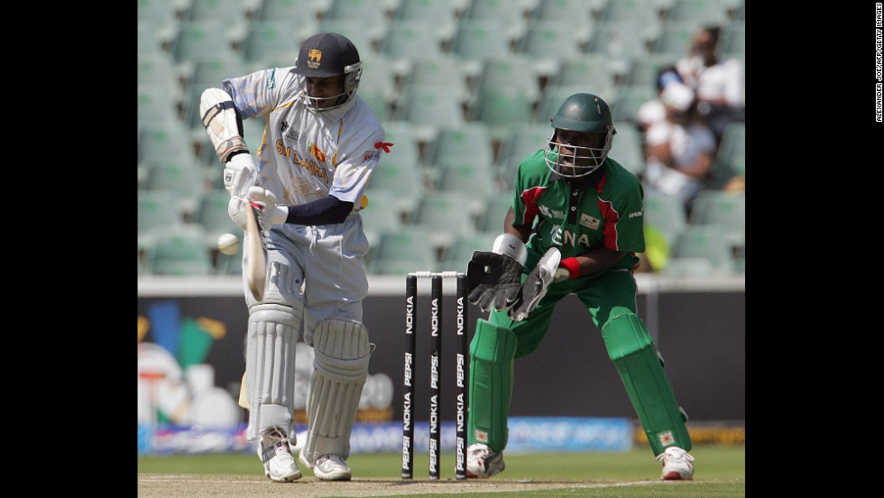 "<strong>ICC World Twenty20 cricket:</strong> Sri Lanka destroyed Kenya in a 2007 match that saw records fall. Sanath Jayasuriya led the way, as his Sri Lanka team won by 172 runs. Jayasuriya scored 88 runs all by himself, including 11 fours and four sixes. ESPN described the mismatch at the time as ""minnow-bashing at its best."""