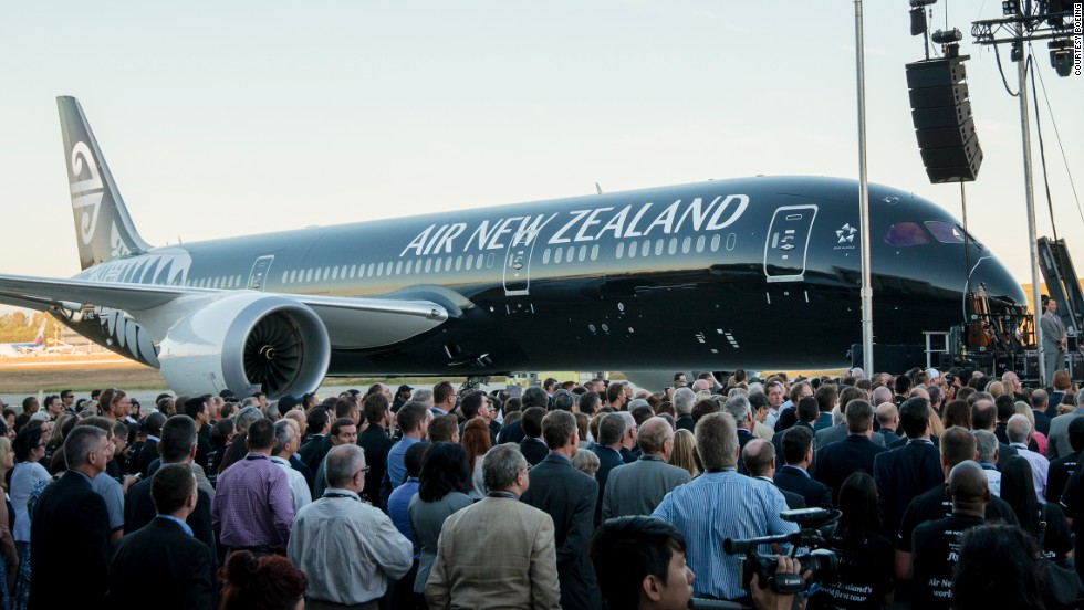 Boeing handed over the first 787-9 Dreamliner to Air New Zealand on July 8, 2014.