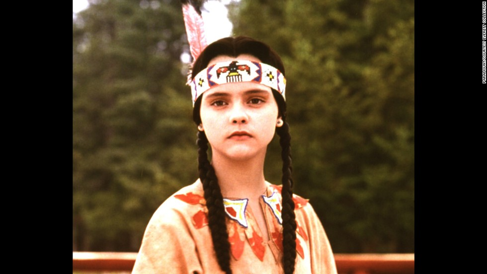 "Summer camps often have a costume competition; if you're not a seamstress, you can farm out the costume creation to someone who is. Pictured: Christina Ricci in 1993's ""Addams Family Values."""