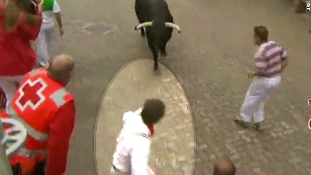 Bull-running expert gets BULLdozed