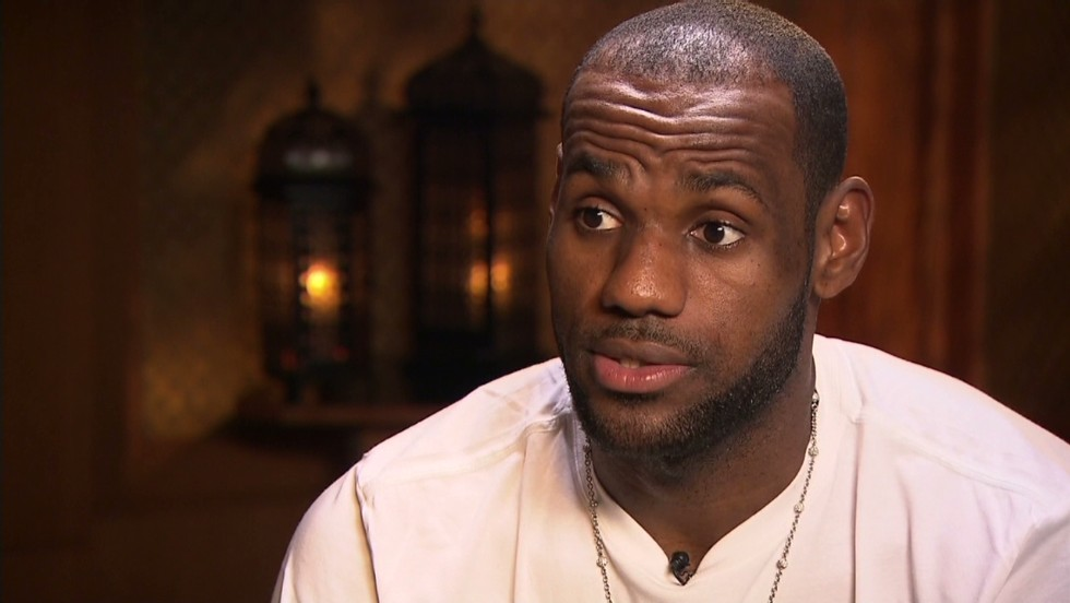 LeBron James: 'Learn from your mistakes' - CNN Video