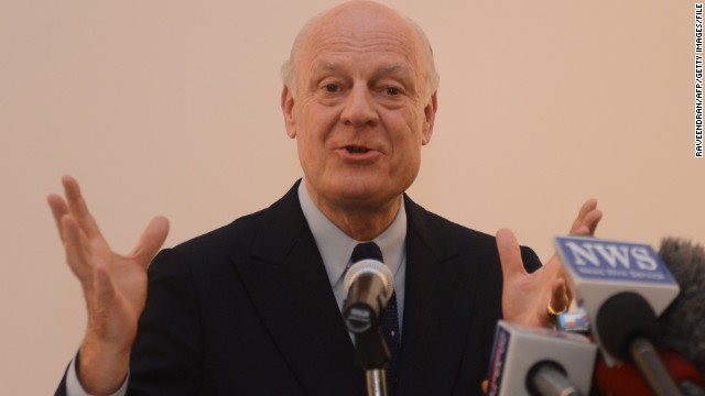 U.N. Secretary-General Ban Ki-moon announced that Staffan de Mistura will take on the role as the world body's official facilitator on Syria.