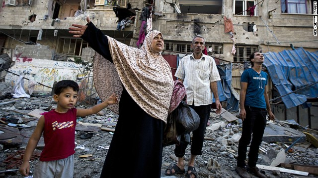 Palestinians: At least 81 killed in Gaza