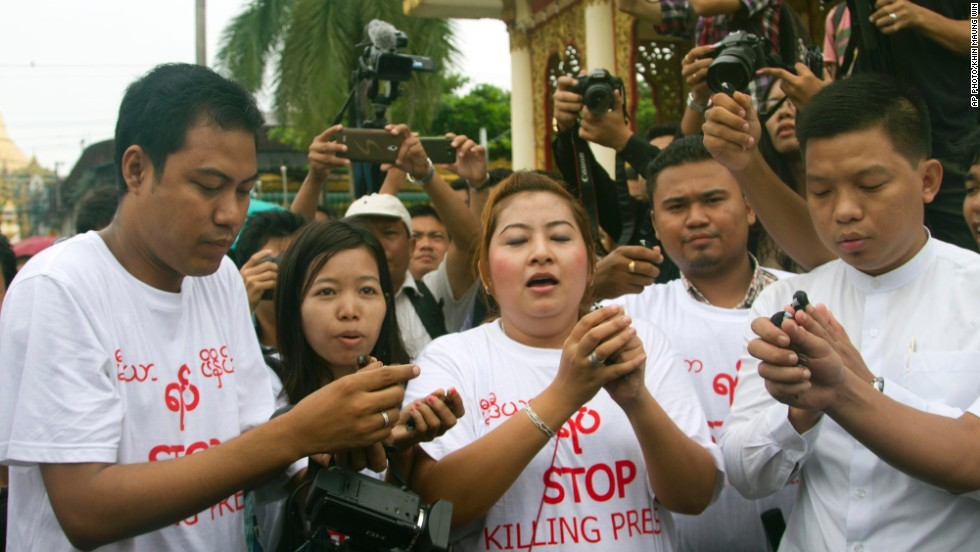 10 years of hard labor: 'Back to square one' for Myanmar press freedoms?