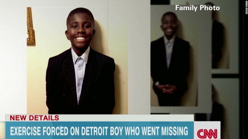 'Missing' boy found in basement tells authorities of grueling forced exercise