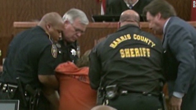 Shooting spree suspect collapses in court