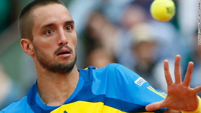While serving his doping suspension, Viktor Troicki went back to school.