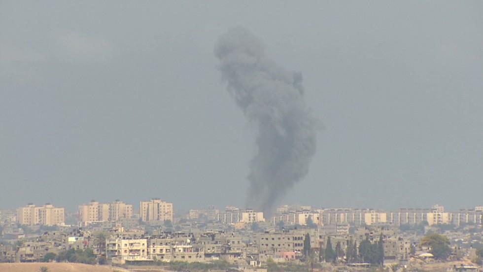 Life on the Gaza border for Israelis  - CNN Video