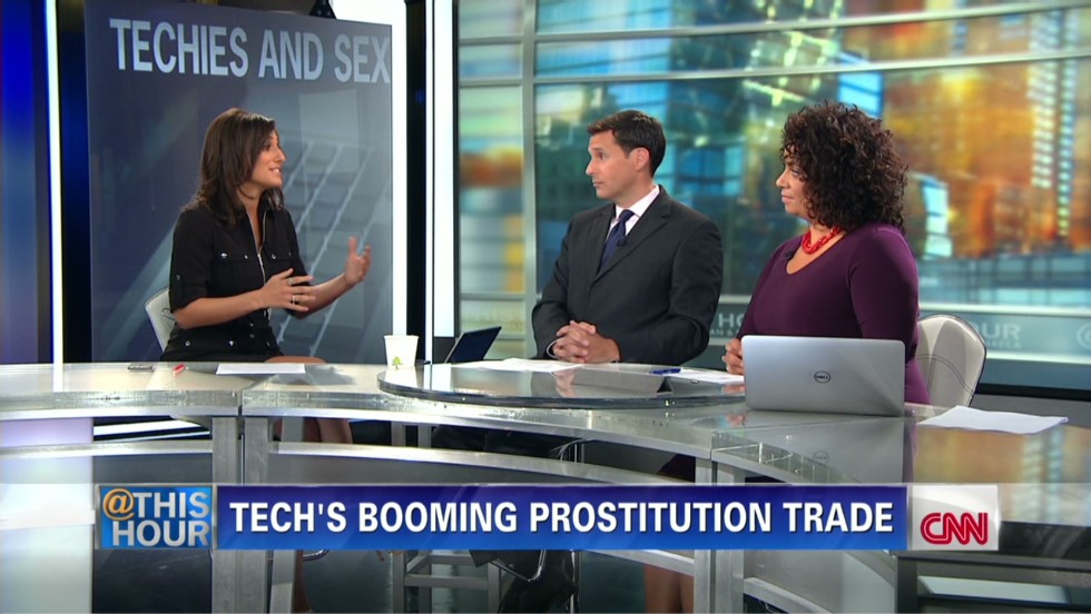 Tech's Booming Prostitution Trade - CNN Video