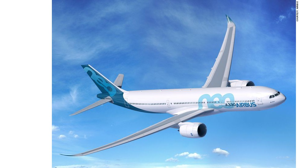 Airbus announced at the Farnborough Airshow that the company will release a new A330neo airliner --  a revamped version of the A330 model.