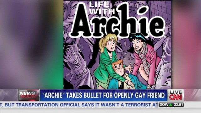 """Archie"" comic icon dies saving gay friend"