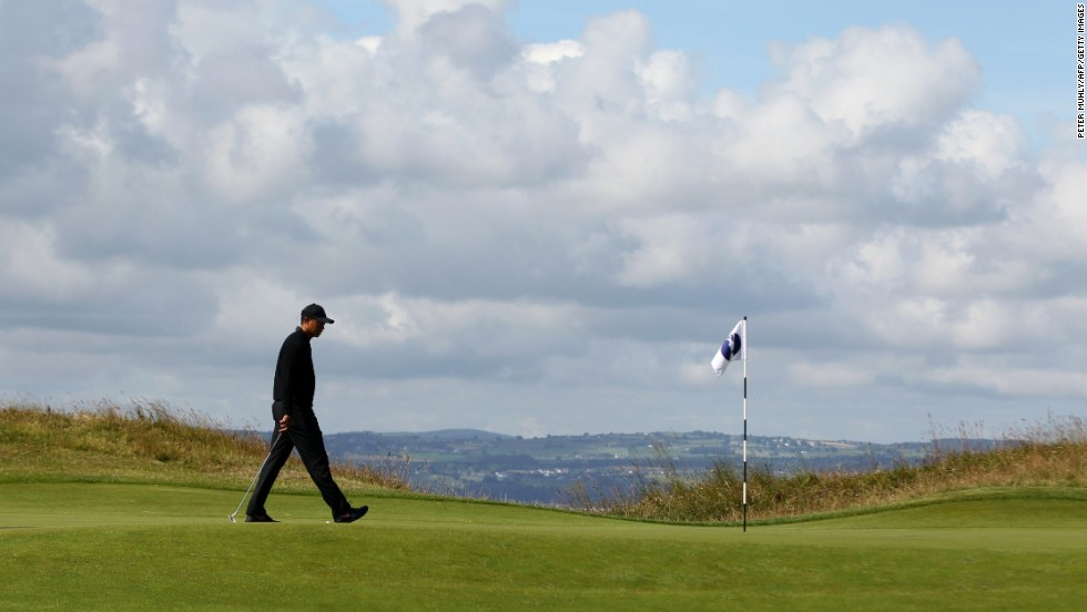 The current World no. 7 has played three practice rounds at Hoylake in preparation for this year's Open.